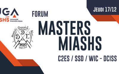 Forum Masters MIASHS UGA